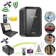 Localizador GPS para coche GF09 dispositivo de grabación anticaída, Control por voz, equipo de seguimiento en tiempo Real