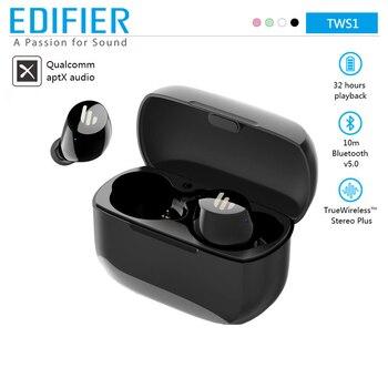 EDIFIER TWS1 Wireless Bluetooth Earphone V5.0 Support aptX IPX5 Touch Control Bluetooth Earbuds 3D Stereo Wireless Earphone