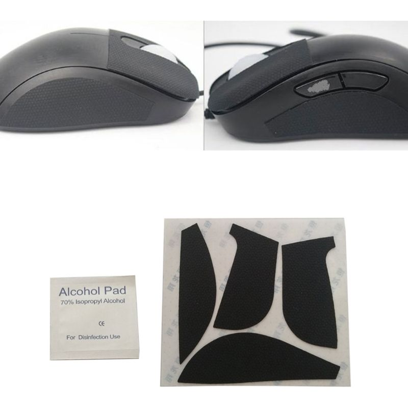 Mouse Feet Mouse Skates Side Stickers Sweat Resistant Pads Anti-slip Tape For ZOWIE EC1-A EC1-B Gaming Mouse