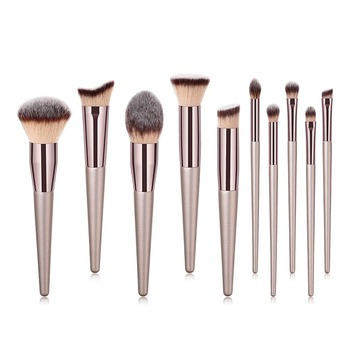 цена на 1-5PCS Makeup Brushes Set Professional Foundation Brush Powder Blush Eyeshadow Brush Cosmetics Beauty Tools Make Up Brushes Set
