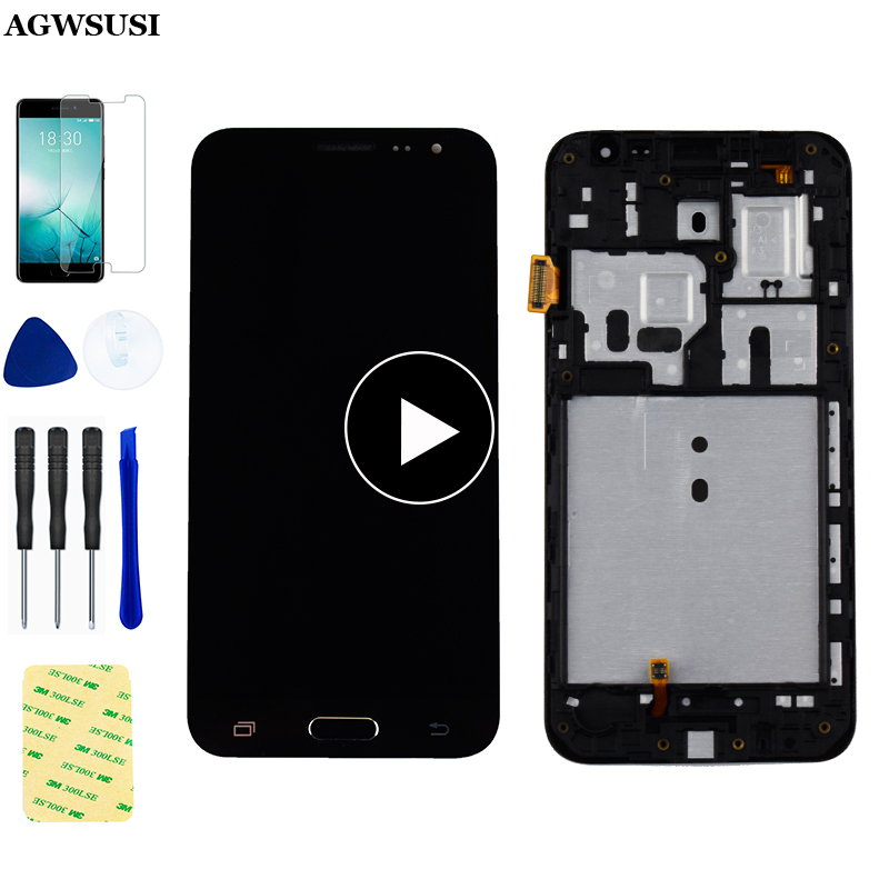 For <font><b>Samsung</b></font> Galaxy J3 2016 <font><b>LCD</b></font> j320 <font><b>SM</b></font>- J320F Display J320M <font><b>J320FN</b></font> J320H <font><b>LCD</b></font> Display + Touch Screen Digitizer Sensor Assembly image