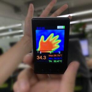 Image 2 - DANIU Protable HY 18 MLX90640 Handheld Thermograph Camera Infrared Temperature Sensor Digital Infrared Thermal Imager