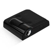 4,5 V Автомобильная дверь Беспроводная Совместимость светодиодный проектор свет для BMW