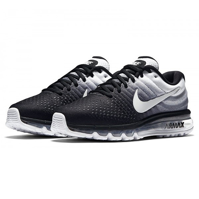 Nike AIR MAX Mens Running Shoes Sport Outdoor Sneakers Athletic Designer Footwear 2017 New Jogging Breathable Lace-Up 849559-010
