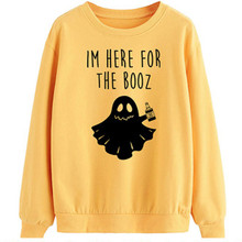 Women Autumn Hooded Casual Ladies Printed Letters Casual Loose Round Neck Sweatshirt  8.22 burgundy round neck letters print sweatshirt