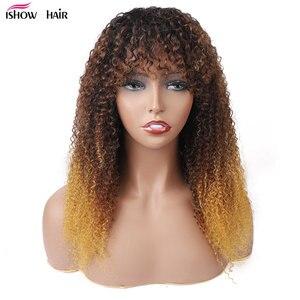 13x4 koronkowe peruki z przodu peruwiański Remy ludzki włos Ishow głęboka koronkowa fala przodu peruki 4x4 zamknięcie koronki peruki pre-oskubane z dzieckiem włosy