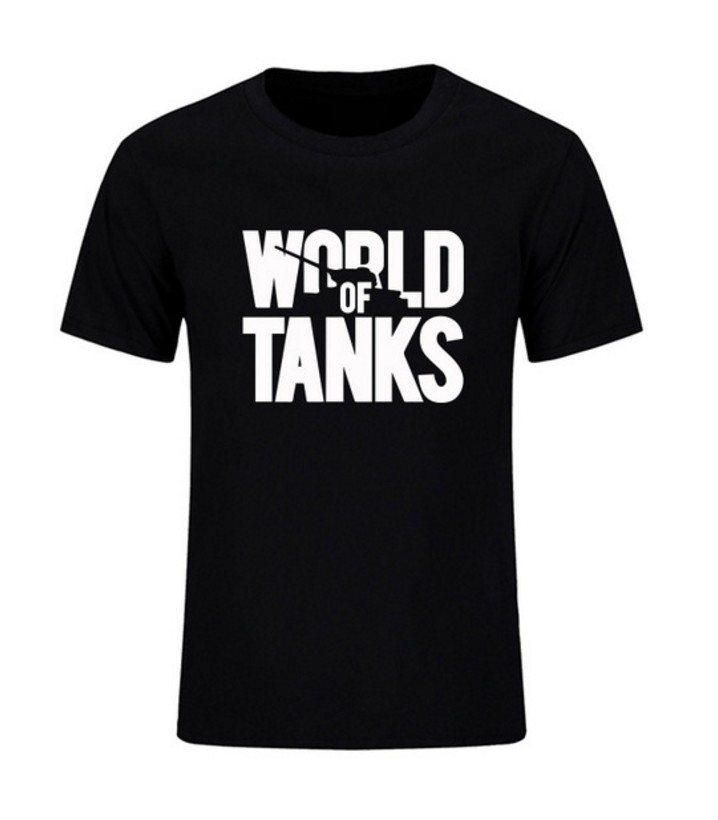 New  Summer Style Funny World Of Tanks War Ii T-Shirt Men Short Sleeve T Shirts Fashion Brand Streetwear Hip Hop Top Tees