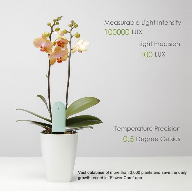 YouPin HHCC Flower Monitor Plants Grass Soil Water Light Smart Tester Flora Care Detect Sensor Garden Global Version For XiaoMi 5