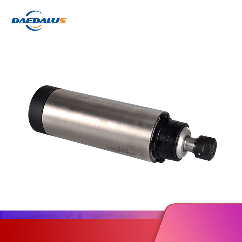 CNC <font><b>Spindle</b></font> <font><b>2.2kw</b></font> <font><b>air</b></font> <font><b>cooled</b></font> <font><b>spindle</b></font> motor 110v/220v/380v ER20 80MM with 4pcs bearing for cnc milling machine image