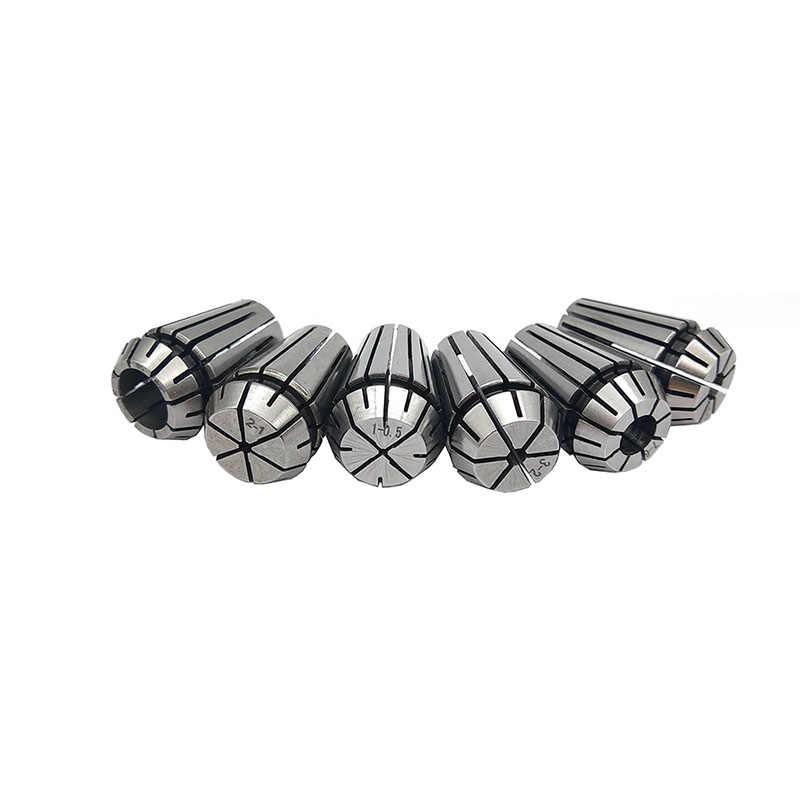 1 pièces Haute Précision Pince ER20 1-13MM 1/4 6.35 1/8 3.175 1/2 12.7 Pince à ressort Pour CNC Gravure Machine Tour Moulin Outil