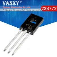 Transistores de baja potencia, 20 piezas B772 TO126 2SB772 3A / 40V PNP a-126, nuevos y originales