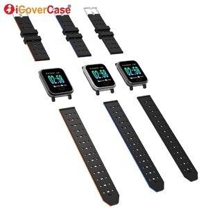 Image 4 - Для Samsung Galaxy S10 5G S10e Lite S9 S8 Plus S7 Note 10 9 8 Смарт часы браслет водонепроницаемые фитнес браслеты с измерением кровяного давления