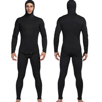 MYLEDI 3mm Neoprene Diving Suit For Men Swimming Surfing Jump Suit Surfacing Warm Wetsuit Suspender Trousers And Jacket 2pcs/set