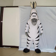 цены на zebra Hippo animal mascot fancy Halloween costume  в интернет-магазинах