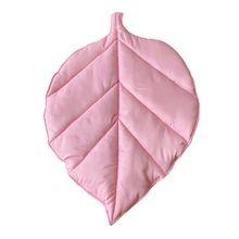 Carpet Baby Newborn Floor Rug Crawling-Blanket Play-Mat Room-Decor Leaf-Shape Kids Cotton