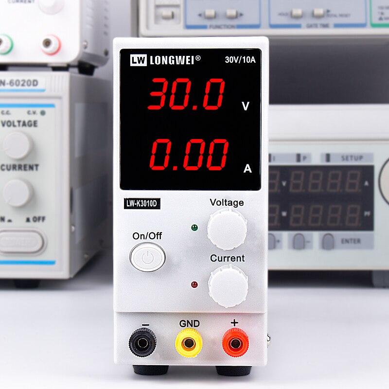 Image 5 - СВЕТОДИОДНЫЙ цифровой импульсный источник питания постоянного тока регуляторы напряжения Lab инструмент для ремонта Регулируемый LW K3010D 110/220V источник питания-in импульсный источник питания from Товары для дома
