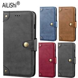 На Алиэкспресс купить чехол для смартфона ailishi genuine leather case for lenovo tab v7 z6 lite k3 k30 k5 pro s5 pro case flip cover phone bag wallet holder business