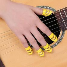 5pcs/set Guita Picks Guitar Bass Celluloid Thumb Finger Protector Acoustic Electric Guitarra Plectrums Guitar Part Accessories