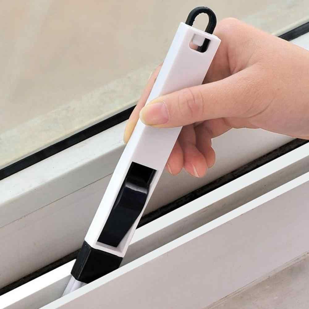 2 w 1 Mini szczotka do czyszczenia okna drzwi do czyszczenia klawiatury szczotka do czyszczenia + szufelka narzędzia do czyszczenia do domu szczotki do czyszczenia