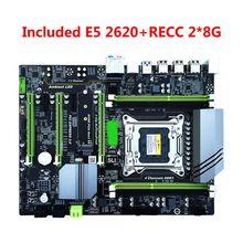 X79T Mainboard Desktop Computer Motherboard LGA2011 E5 2620 CPU 2x8GB=16GB 1600MHz DDR3 ECC Memory