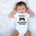 Плеер 3 вышла на игра для новорожденных и малышей, для мальчиков и девочек, летний детский комбинезон для малышей; Комбинезоны для детей; Вер...