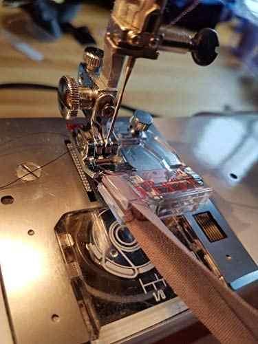 ปรับ BIAS เทป SNAP 6290 Binder เท้า Ajustable Binding SNAP-ON BIAS Binder Presser เท้า (จีน TOP คุณภาพ)