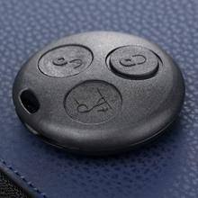 3 przycisk Auto obudowa kluczyka wymiana obudowy Fob dla Mercedes Benz SMART Fortwo City Coupe Cabrio Crossblade Roadster