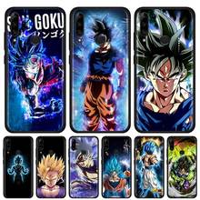 Dragon Ball Z Son Goku Silicone Soft Phone Case for Lenovo Z6 Lite K10 Plus Pro 5G A6 Note Youth Shell
