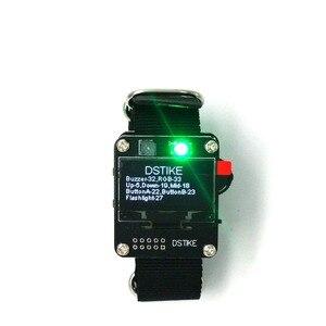 DSTIKE WiFi Deauther браслет, носимая плата Разработки Смарт-часы DevKit Arduino NodeMCU ESP32 OLED версия