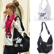 Мода Женщин Сумка Корейский Стиль Холст Водонепроницаемый Высокое Качество Большой Емкости Путешествия Сумка Сумка Для Женщин