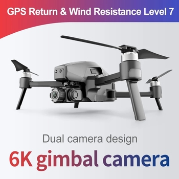 WLRC M1 Pro2 4K GPS Drone 2-Axis Gimbal Professional 6k HD Camera 28mins 1600M 5G Image 32GB TF Card Gifts Boys toy VS SG906 Max 3