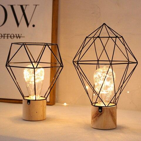 thrisdar ins nordic minimalista cobre lampadas led candeeiros de mesa ferro madeira cabeceira mesa leitura