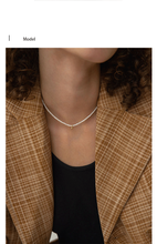 INS Style Imitation Pearl Choker Necklace Round Bead Pendant Clavicle Chain Necklace For Women Fashion Jewelry