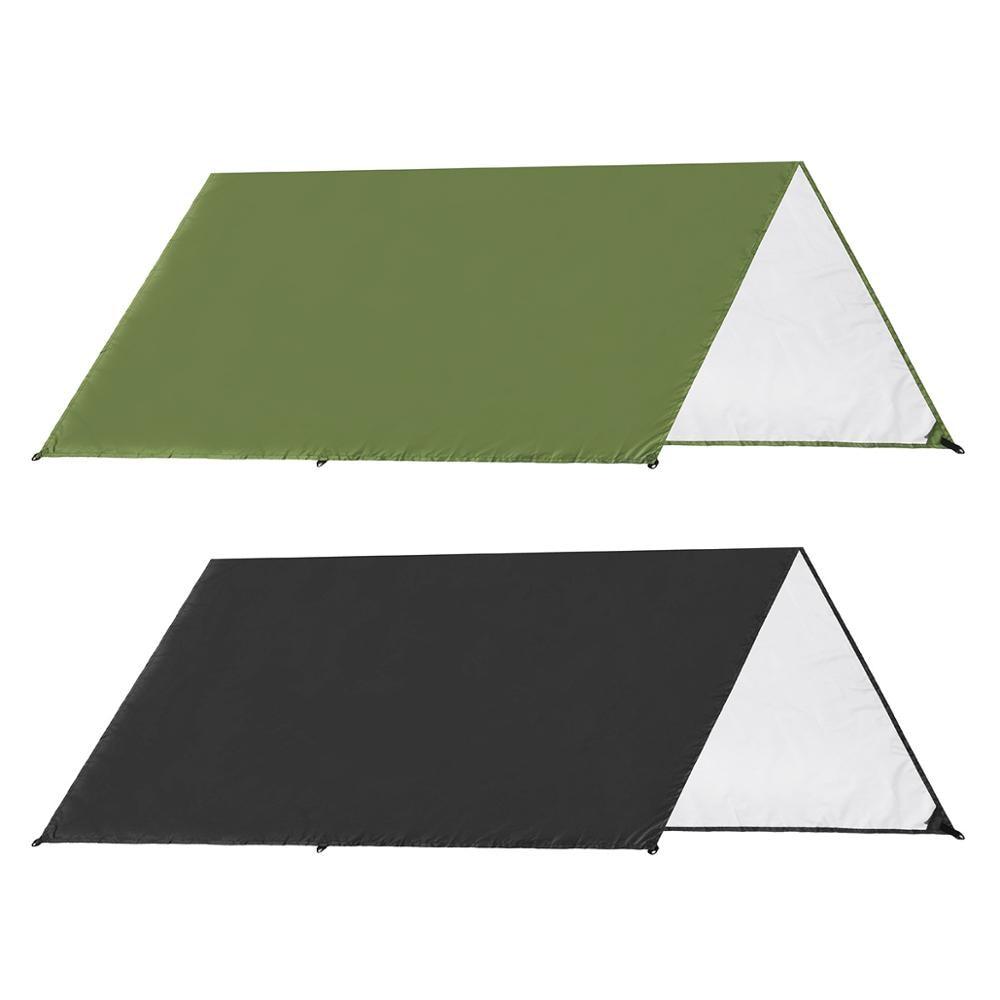 Awning Sun Shelter Beach Outdoor Camping Garden Sun Awning Canopy Sunshade Hammock Rain Fly Tarp Waterproof Tent Shade