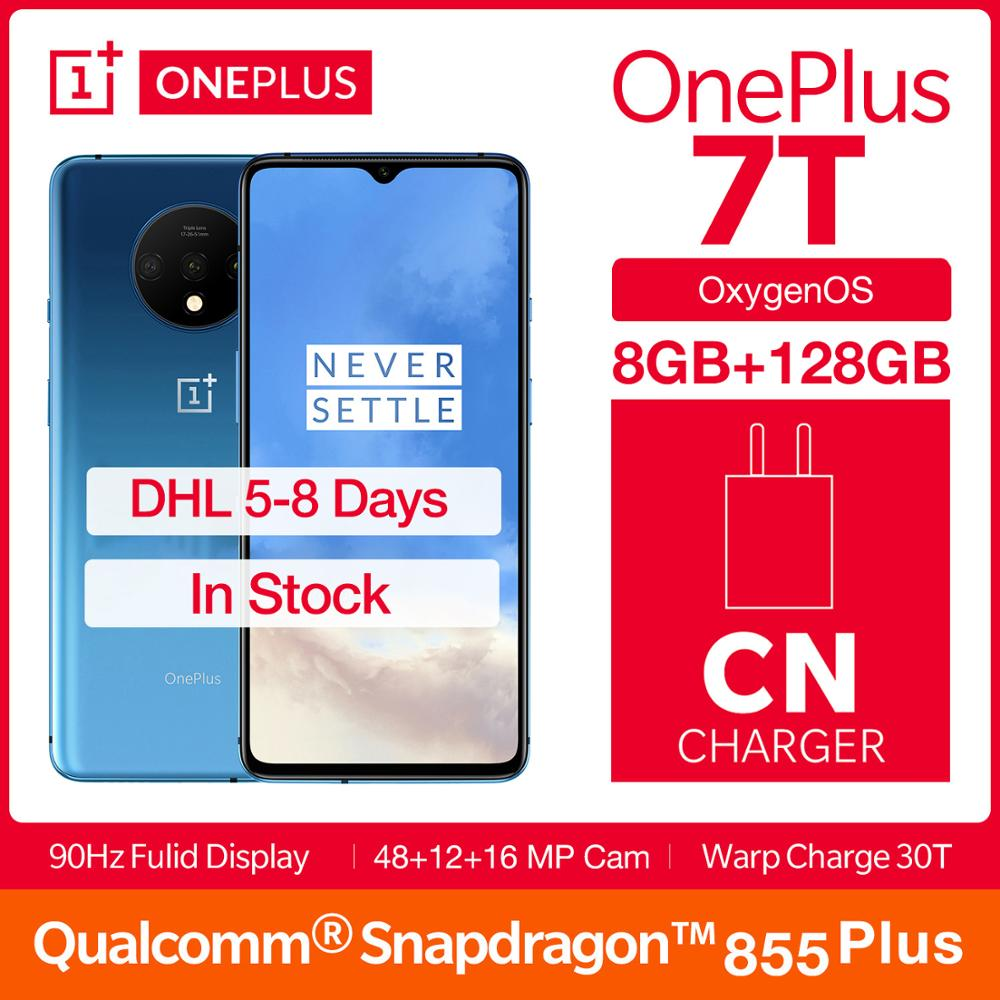 Global ROM OnePlus 7T Fulid AMOLED 6.55