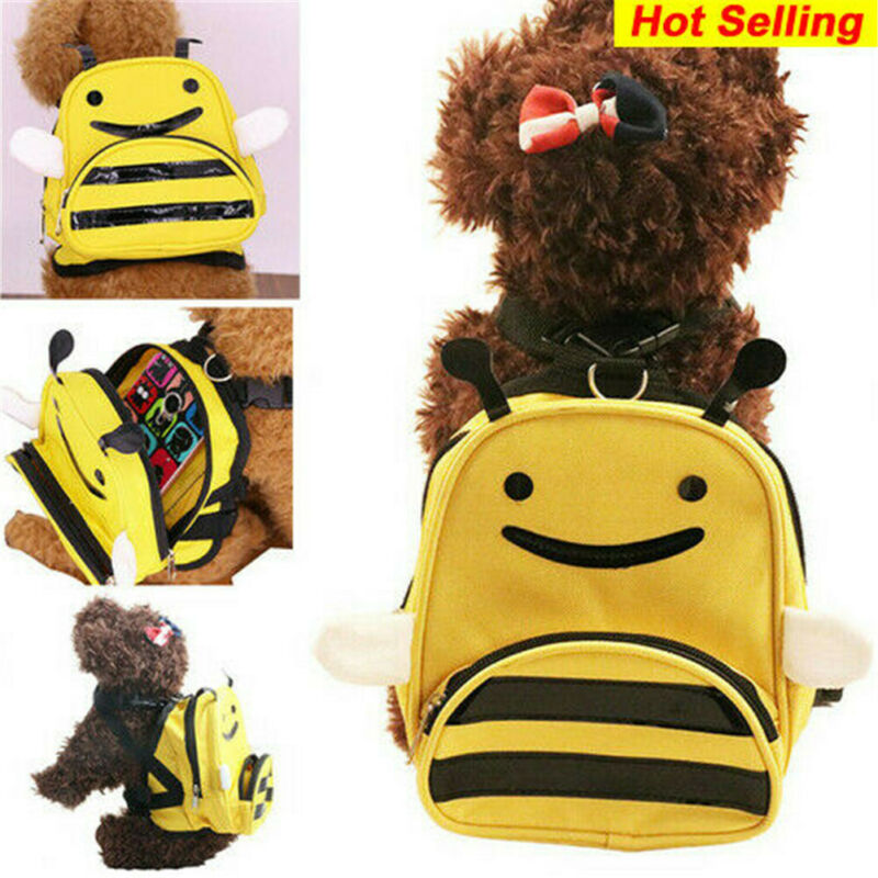 Pet Backpack Carrier Breathable Carry Dogs Puppy Shoulder Backpack Travel Portable Bag  /BY