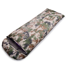 цены на Outdoor Camping Sleeping Bag Thickened Ultra-Light Camouflage Down Sleeping Bag Goose Down Splicing Double Sleeping Bag в интернет-магазинах