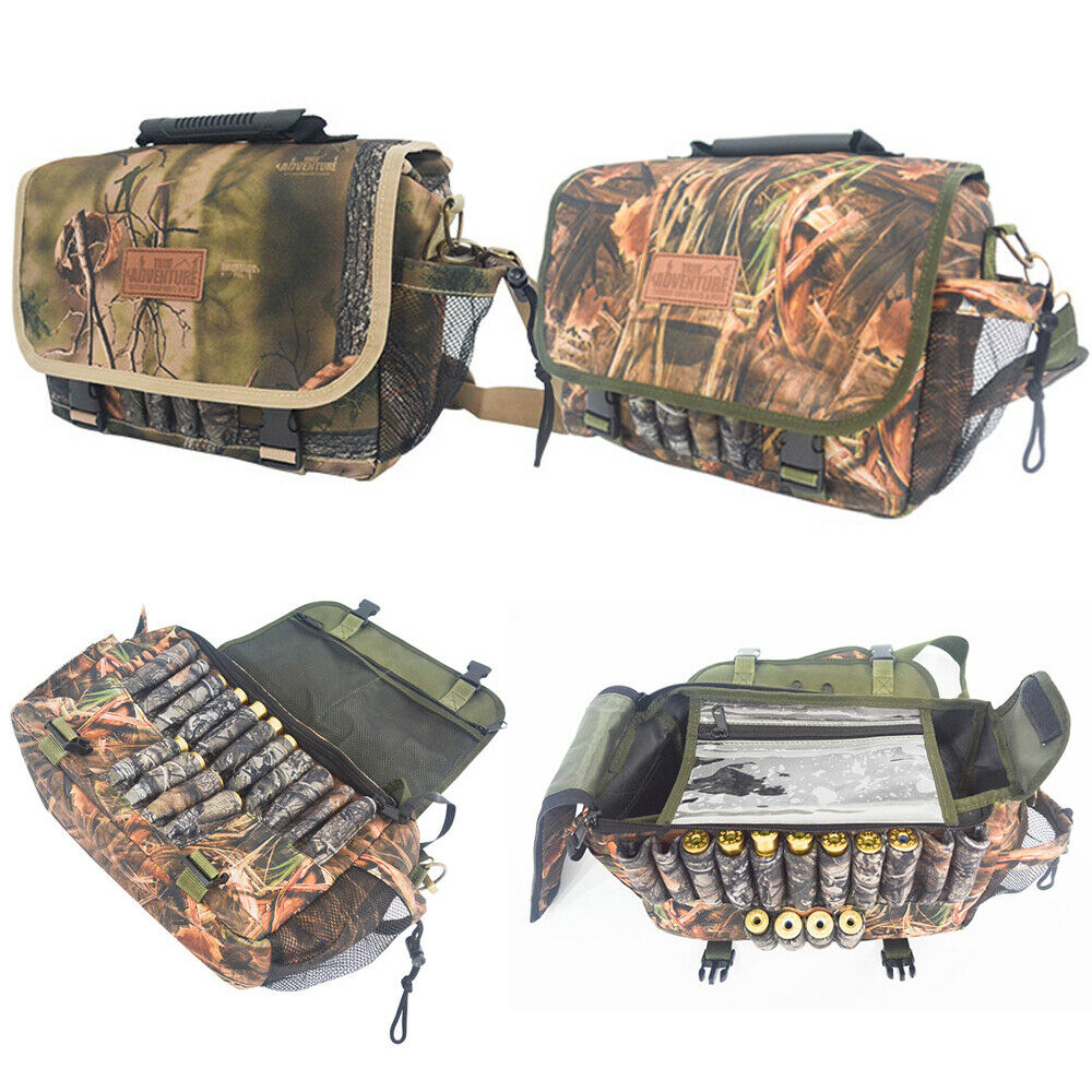 Shooting Hunting Camo Cartridge Holder Bag Game Bag Handbag Crossbody Bag