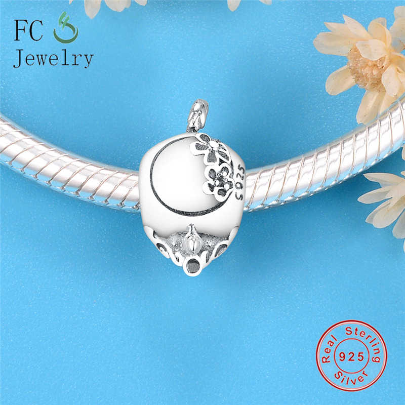 925 Sterling Silver Flower Pot Charm Made in USA