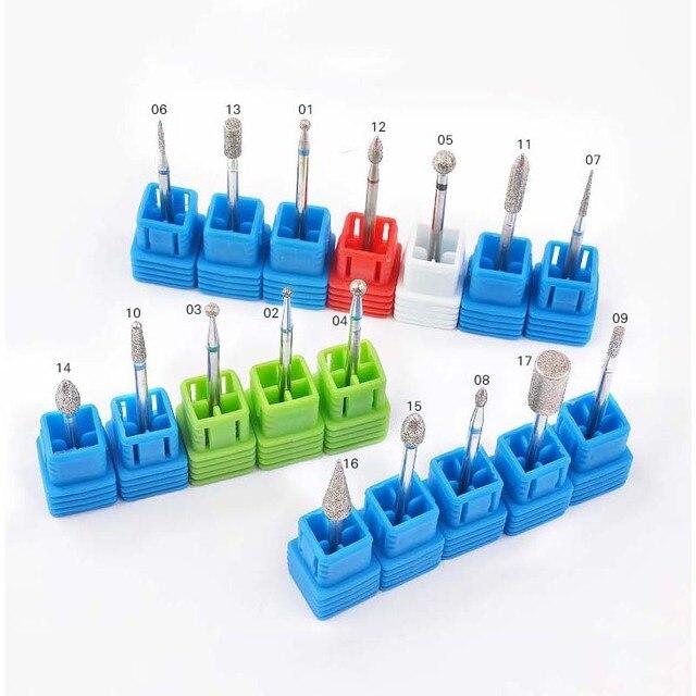 1 PC Nail Manicure Diamond Drill Milling Nail Cutter Electric Nail Drill Bit For Manicure Pedicure Drill Bits Accessories