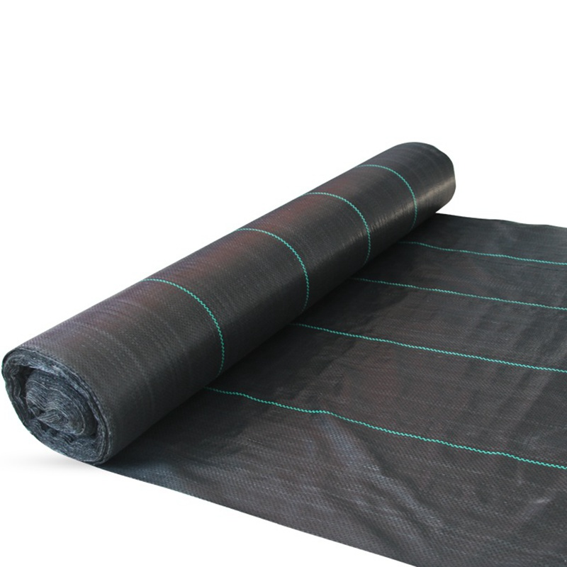 Agricultural Anti Grass Cloth Farm oriented Weed Barrier Mat Black Plastic Mulch Thicker Orchard Garden Weed Control Fabric|Growing Tents| |  - title=