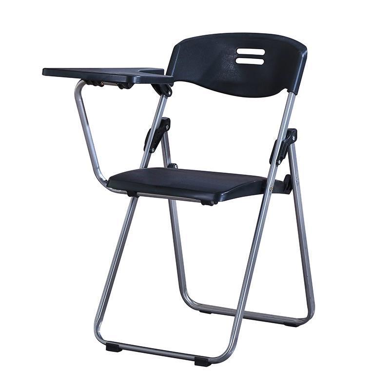 Staf Cadeira Com Escrita bürosu Meuble Etudiante Modern konferans katlanabilir ofis Silla De Oficina katlanır sandalye kurulu title=