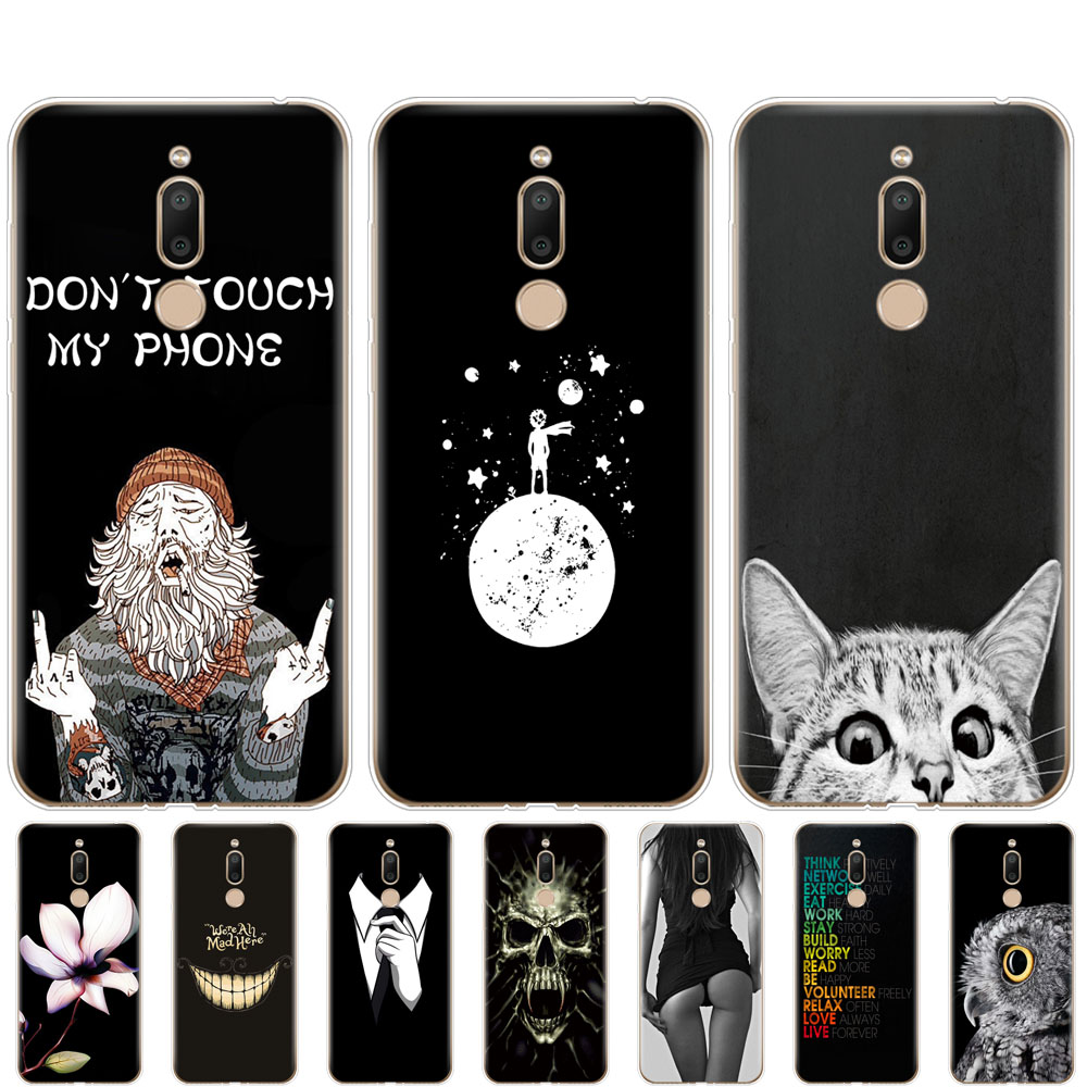 For <font><b>Meizu</b></font> <font><b>M6T</b></font> Case coque Silicon Soft TPU phone Shell Cover on For Fundas <font><b>Meizu</b></font> <font><b>M6T</b></font> bumper M6 T M 6T <font><b>M811H</b></font> fundas black cute image