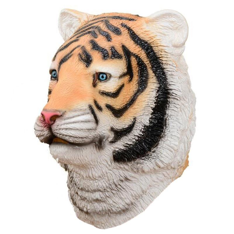 White Kitty Cat Adult Latex Mask Cute Kitten Animal Cosplay Costume Accessory