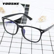 YOOSKE унисекс, синий светильник, блокирующие очки, для женщин и мужчин, негабаритный фильтр, уменьшает оправы для очков, для мужчин, компьютерные очки, очки