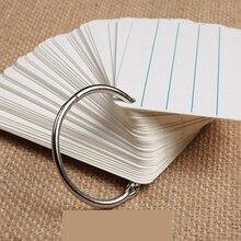 25PCS 25MM word snap ring iron binding metal