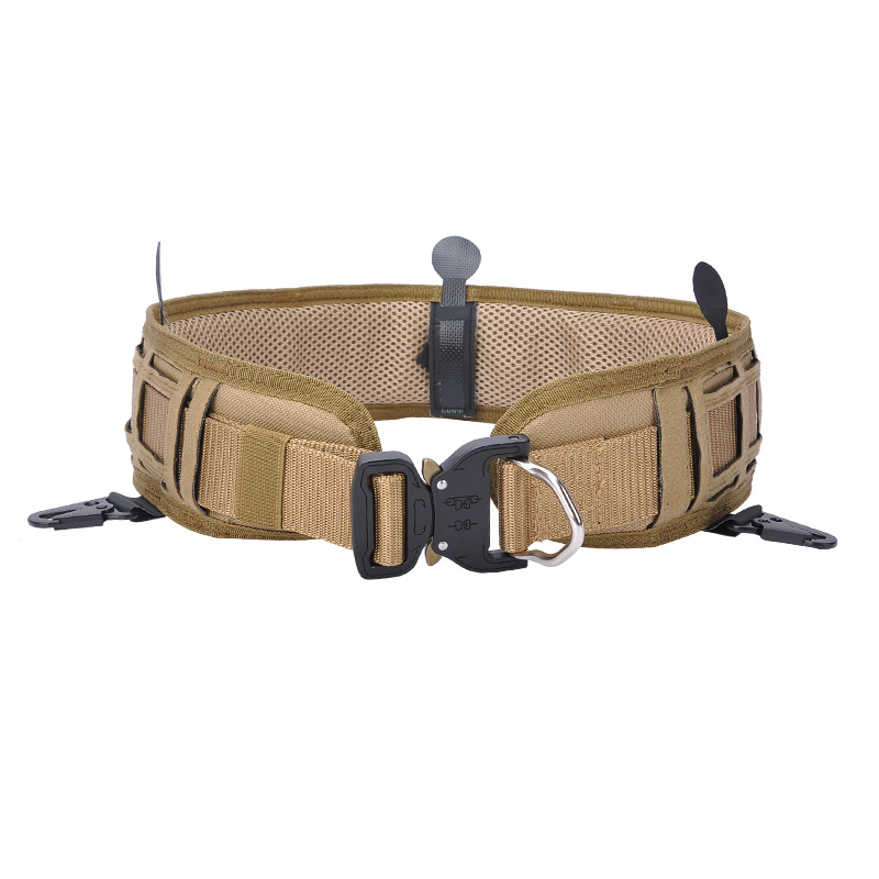 Tactical Belt CS Field Operations Multi-functional Pendant-Uninstall Army Fans Outdoor Training Tactical Mountain Climbing