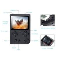 נייד משחקי שחקני משחק ניידות מיני וידאו נייד Bit קונסולת משחקי 8 מובנה 168 משחקים קלאסי LCD ילדים נוסטלגי רטרו קונסולת משחקים (4)
