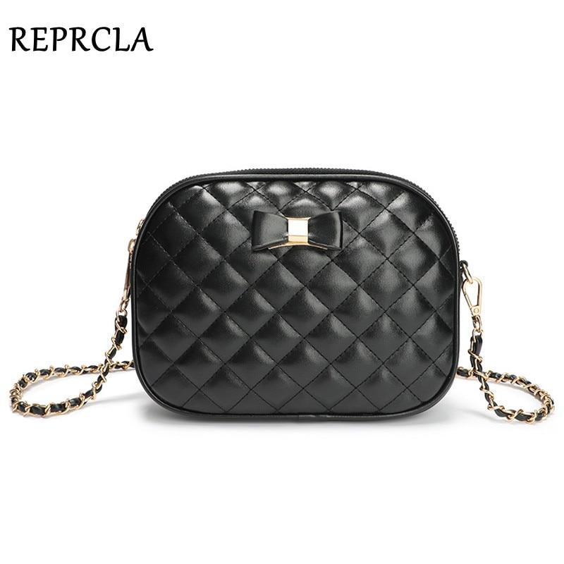 Fashion Compartment Women Shoulder Bag Bow Ladies Handbag Crossbody Bags For Women PU Leather Messenger Bags Purse