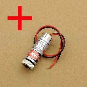 5 мВт 650нм лазерный модуль Красного Креста, регулируемый фокус, лазерная головка 5 в промышленного класса